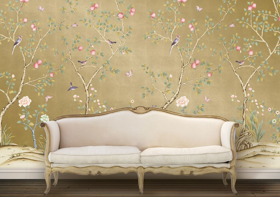 Download Wallpaper Chinoiserie Gallery