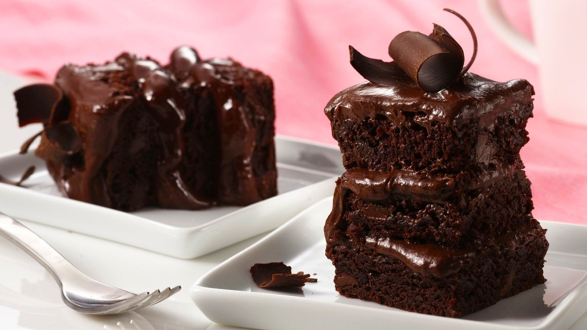 Wallpaper Chocolate Cake
