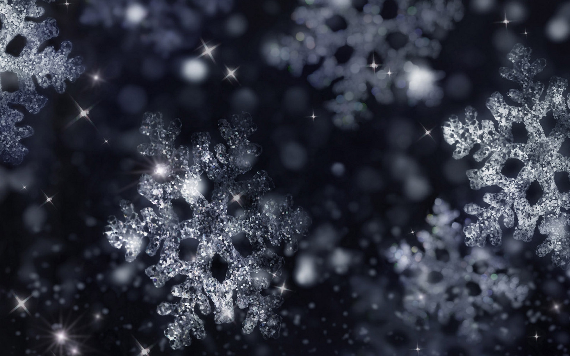 Wallpaper Christmas Snow