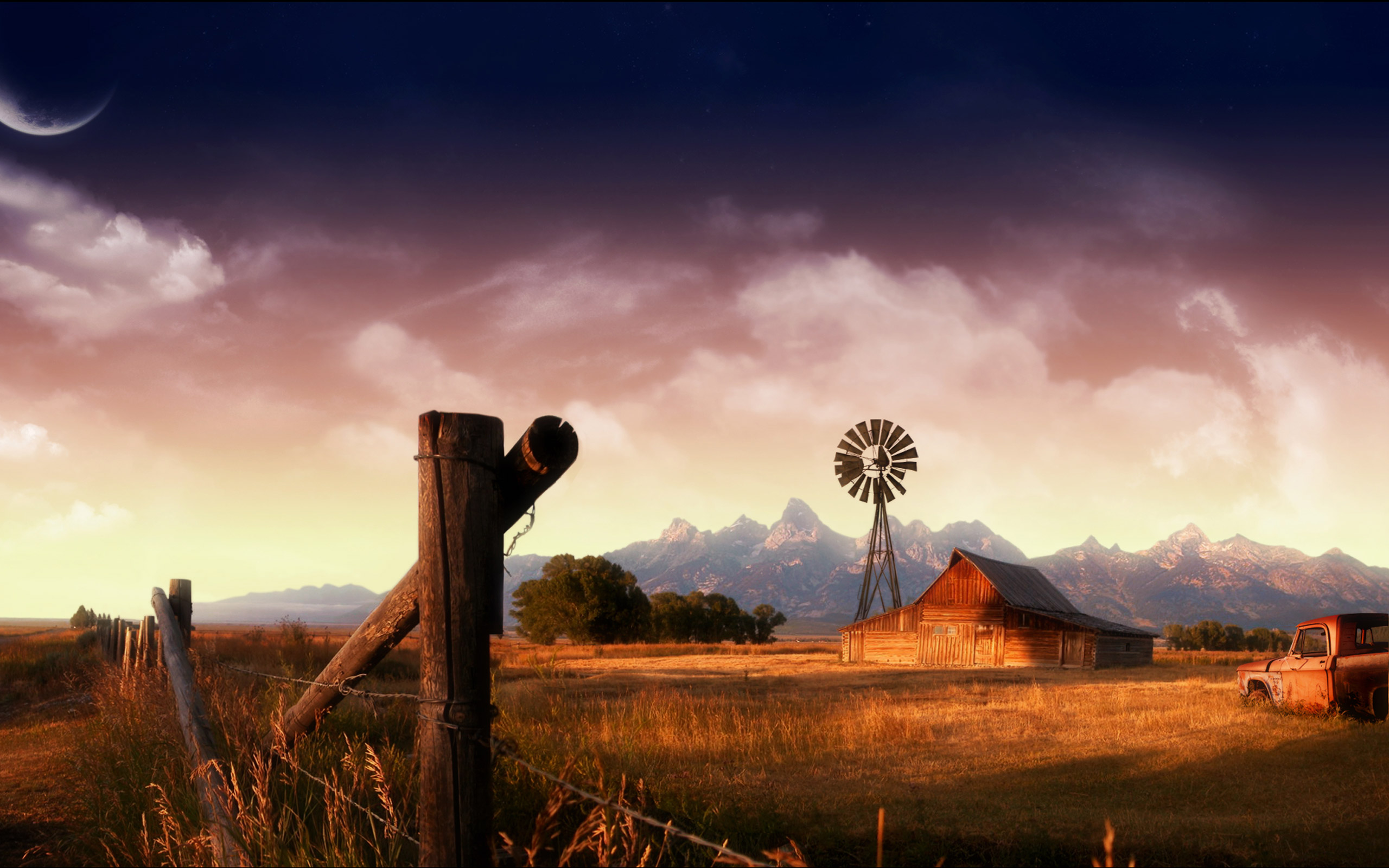 Wallpaper Country