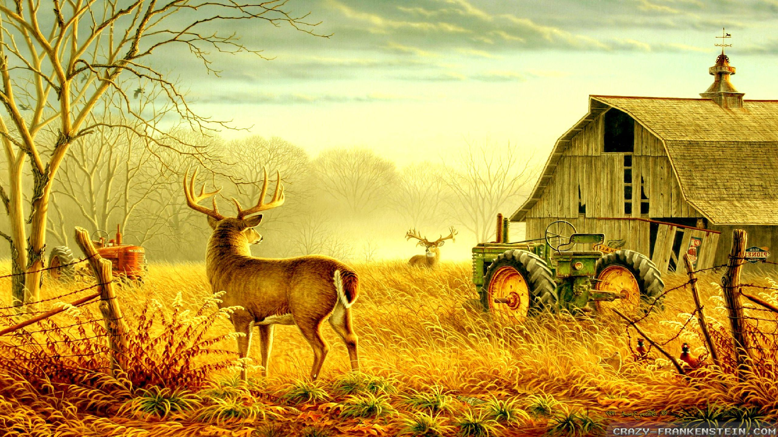 Wallpaper Country Scenes