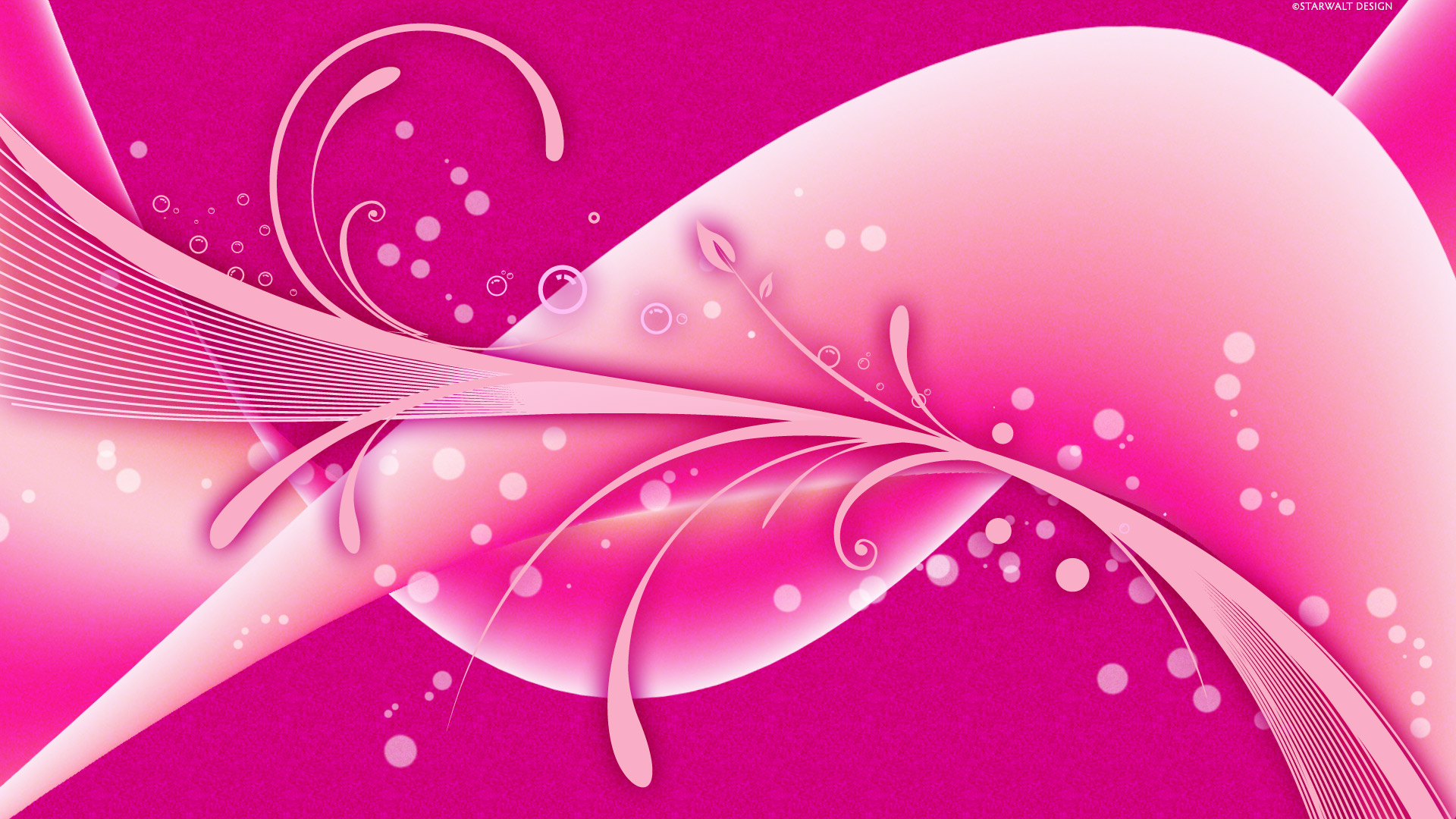 Wallpaper Design Pink