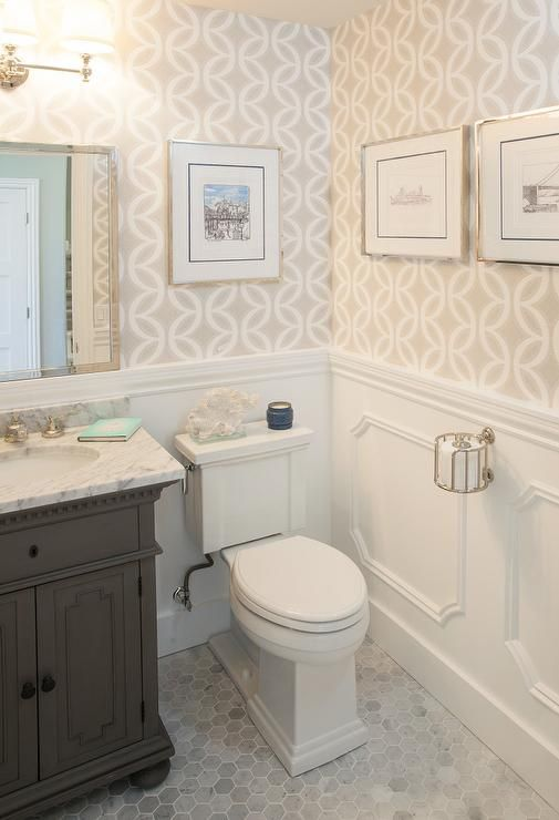 Wallpaper Designs For Bathrooms
