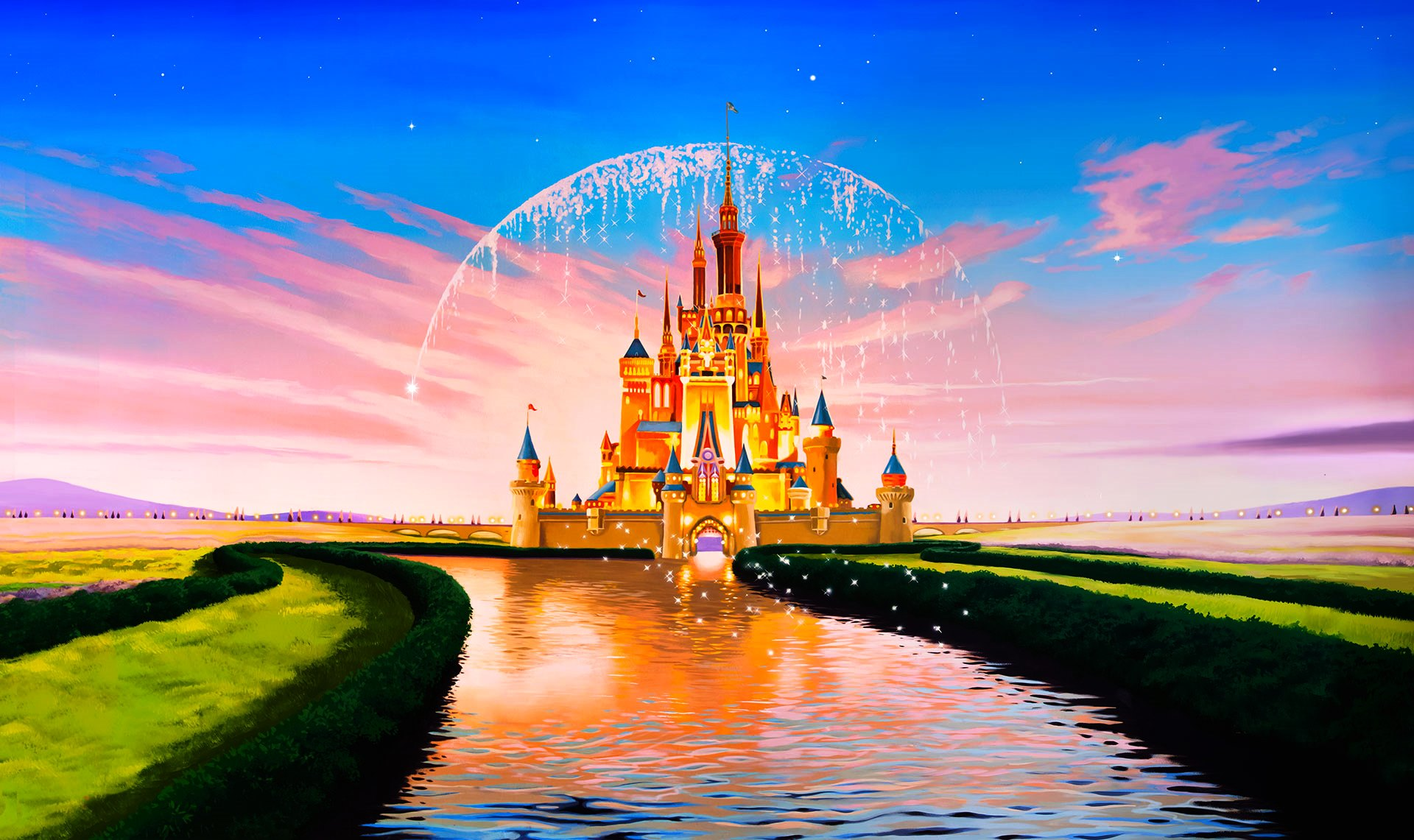 disney castle wallpapers free