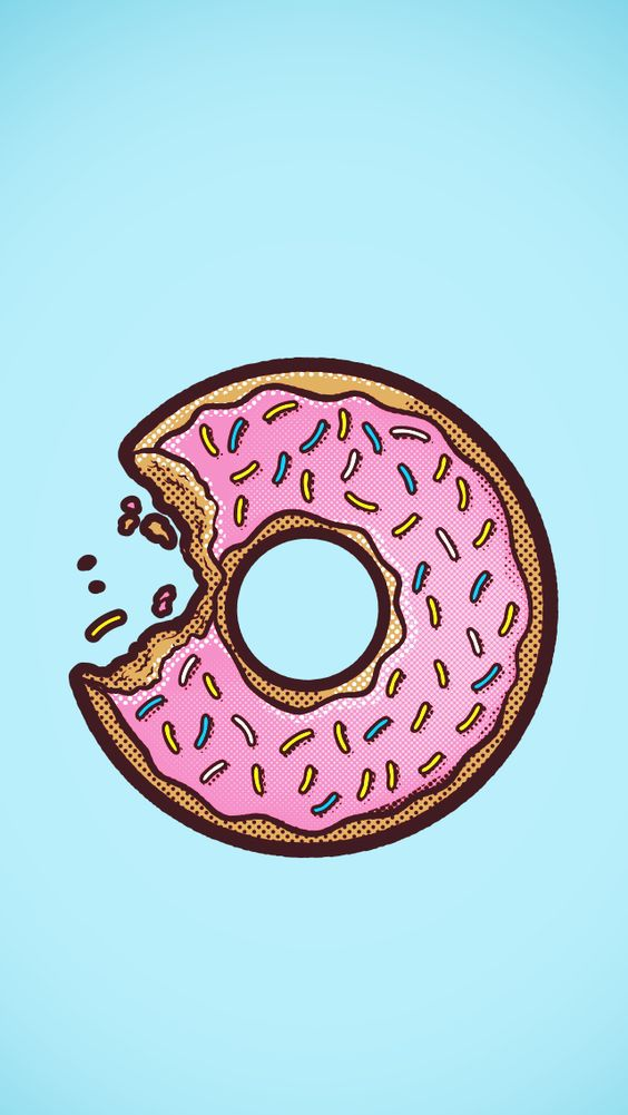 Wallpaper Donuts