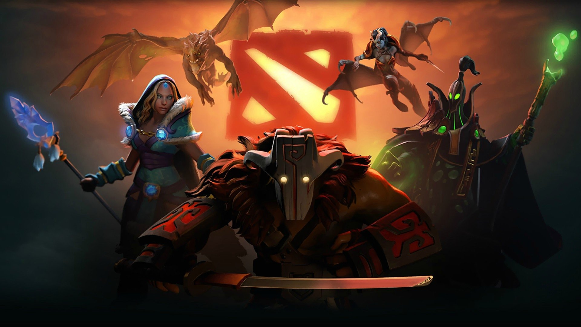 Wallpaper Dota 2 Full HD