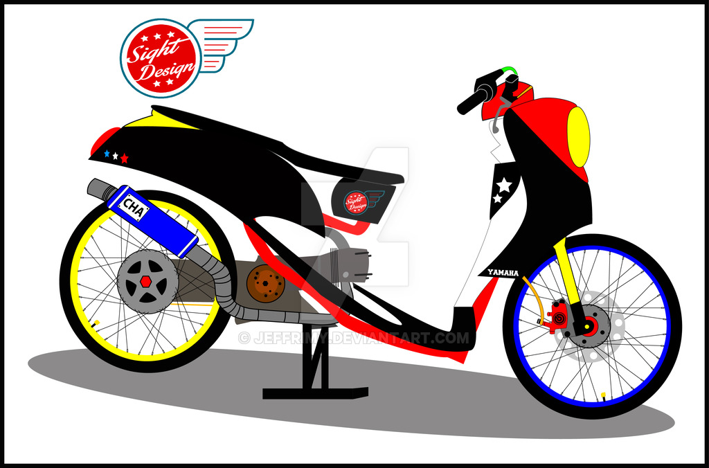 Wallpaper Drag Bike