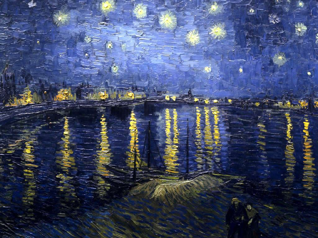 Wallpaper Famous Paintings