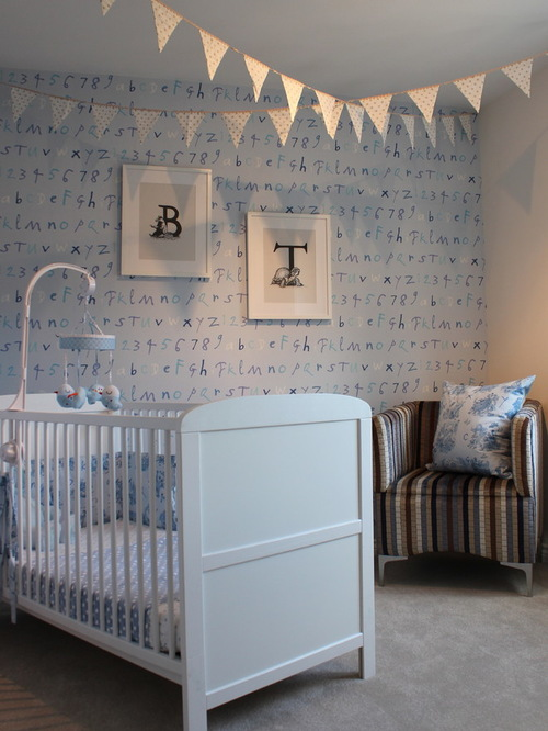 Wallpaper For Baby Boy Room