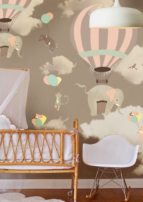 Wallpaper For Baby Nursery