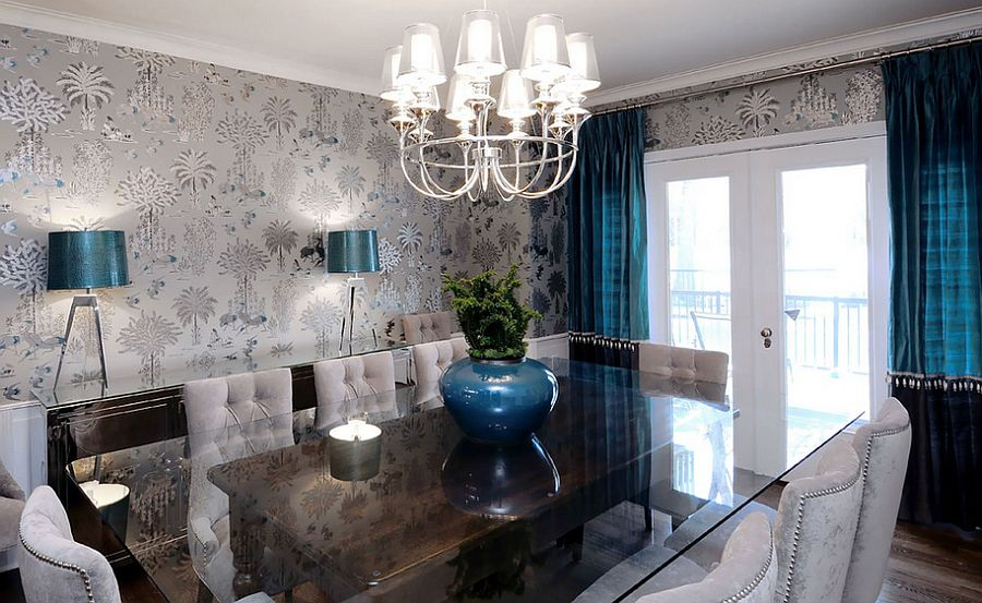 Wallpaper For Dining Room Ideas