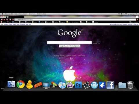 how to set background on google homepage