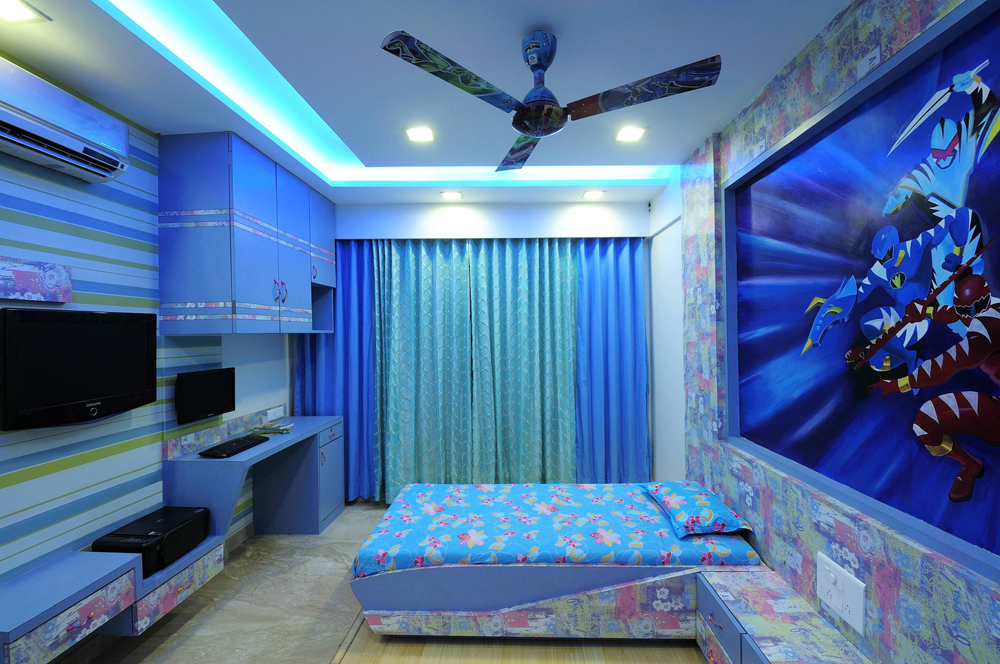 Download wallpaper for kids room india gallery for Wallpaper for kids rooms
