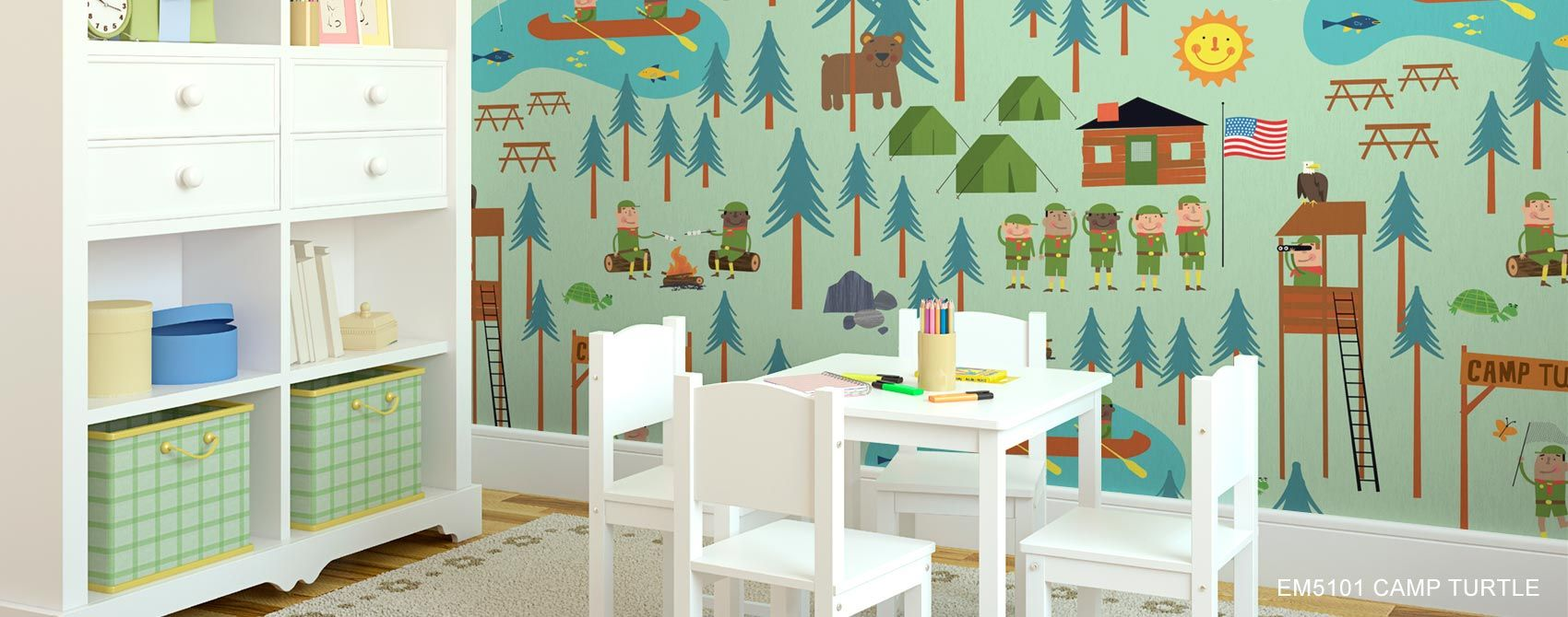 Download wallpaper for kids rooms gallery for Wallpaper for kids rooms
