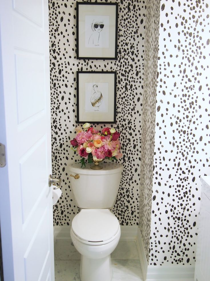 Wallpaper For Powder Room