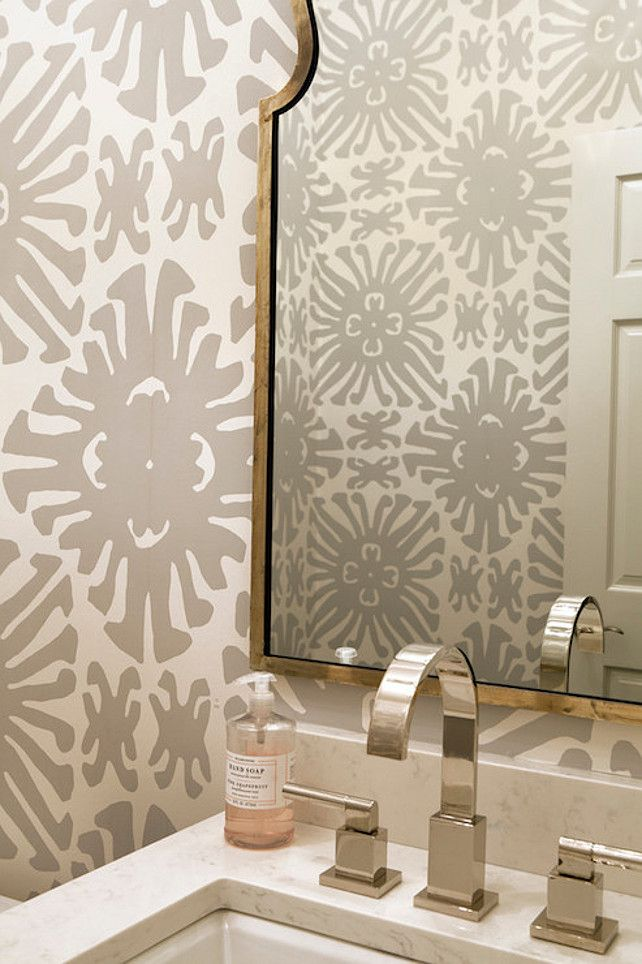 Wallpaper For Powder Rooms