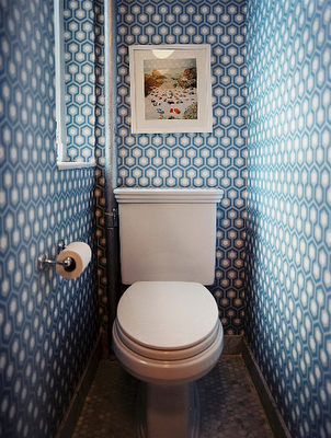 Wallpaper For Small Toilet