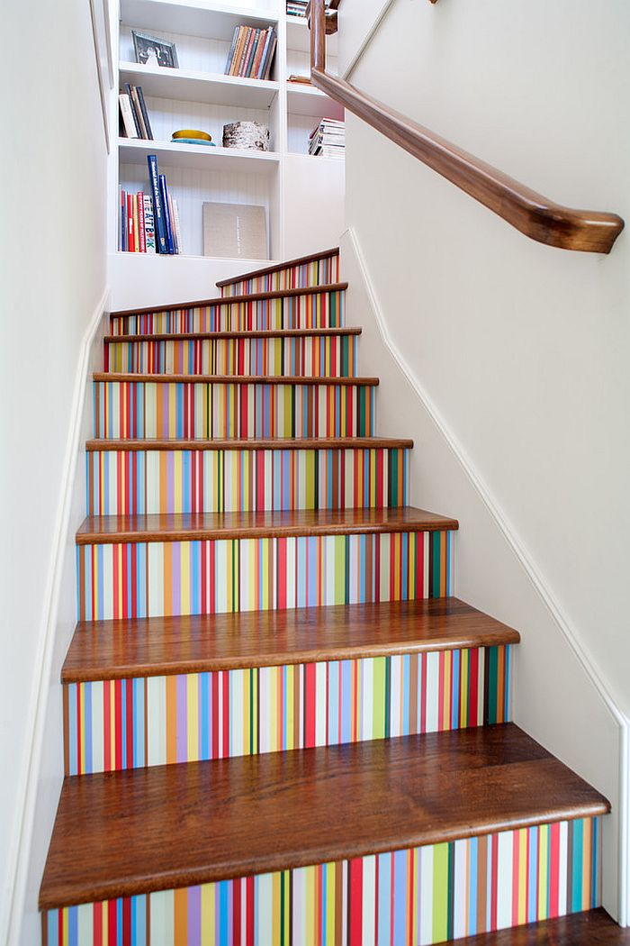 Wallpaper For Staircase