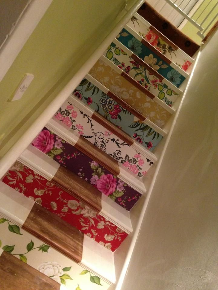 Wallpaper For Staircase Ideas