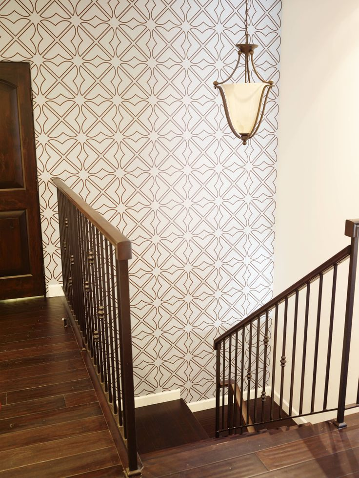 Wallpaper For Staircase Wall
