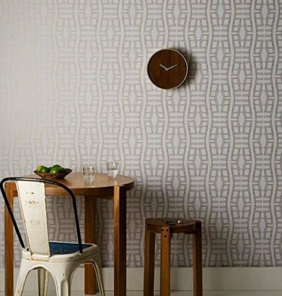 Wallpaper For Wood Furniture