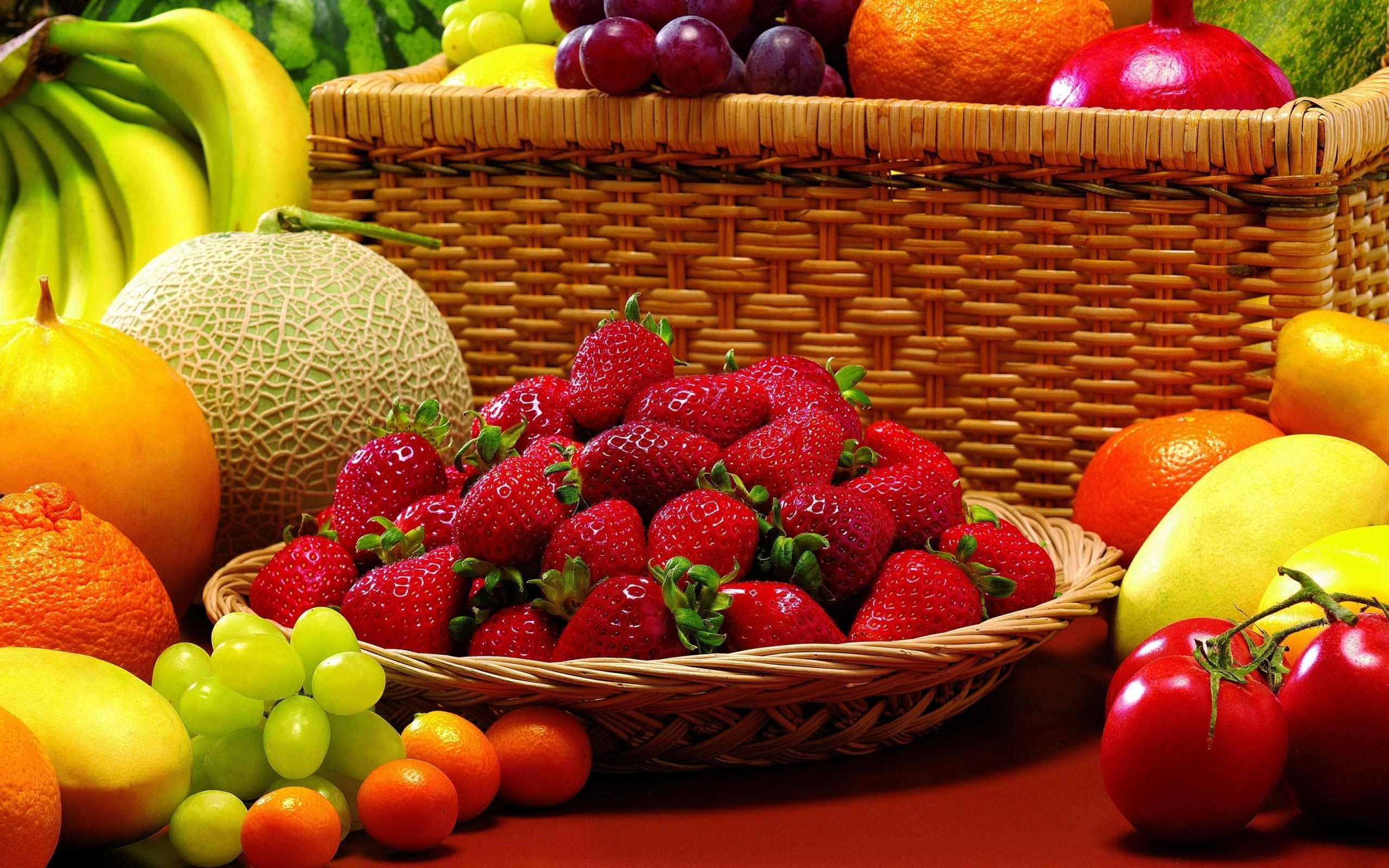 Wallpaper Fruits