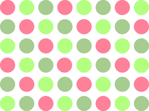 Wallpaper Green And Pink