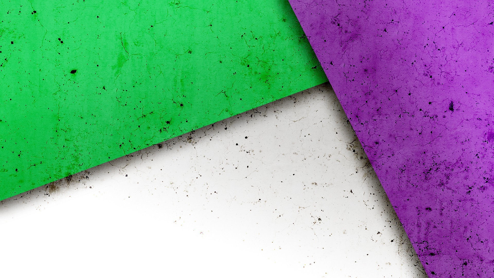 Wallpaper Green And Purple