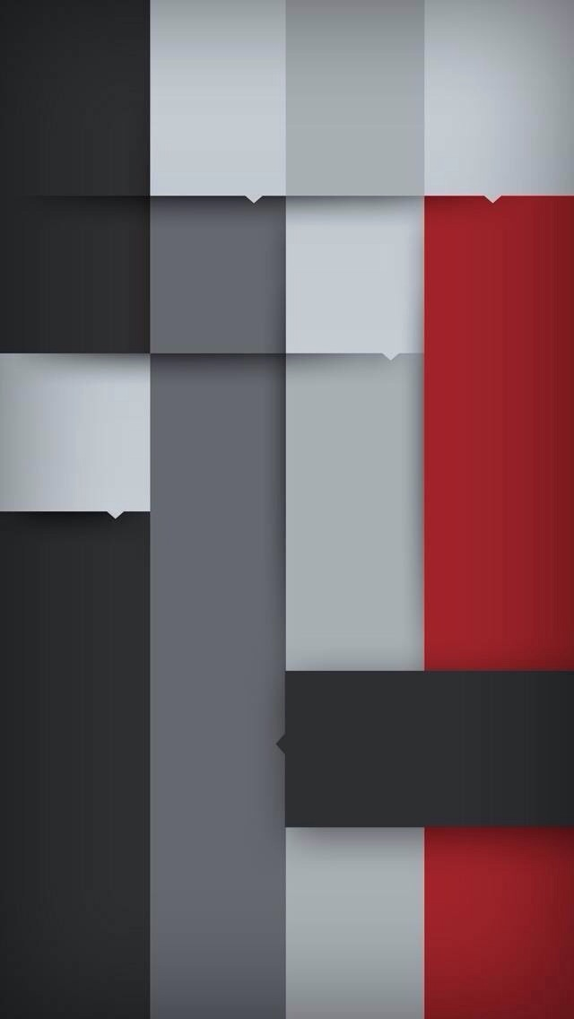 Wallpaper Grey And Red