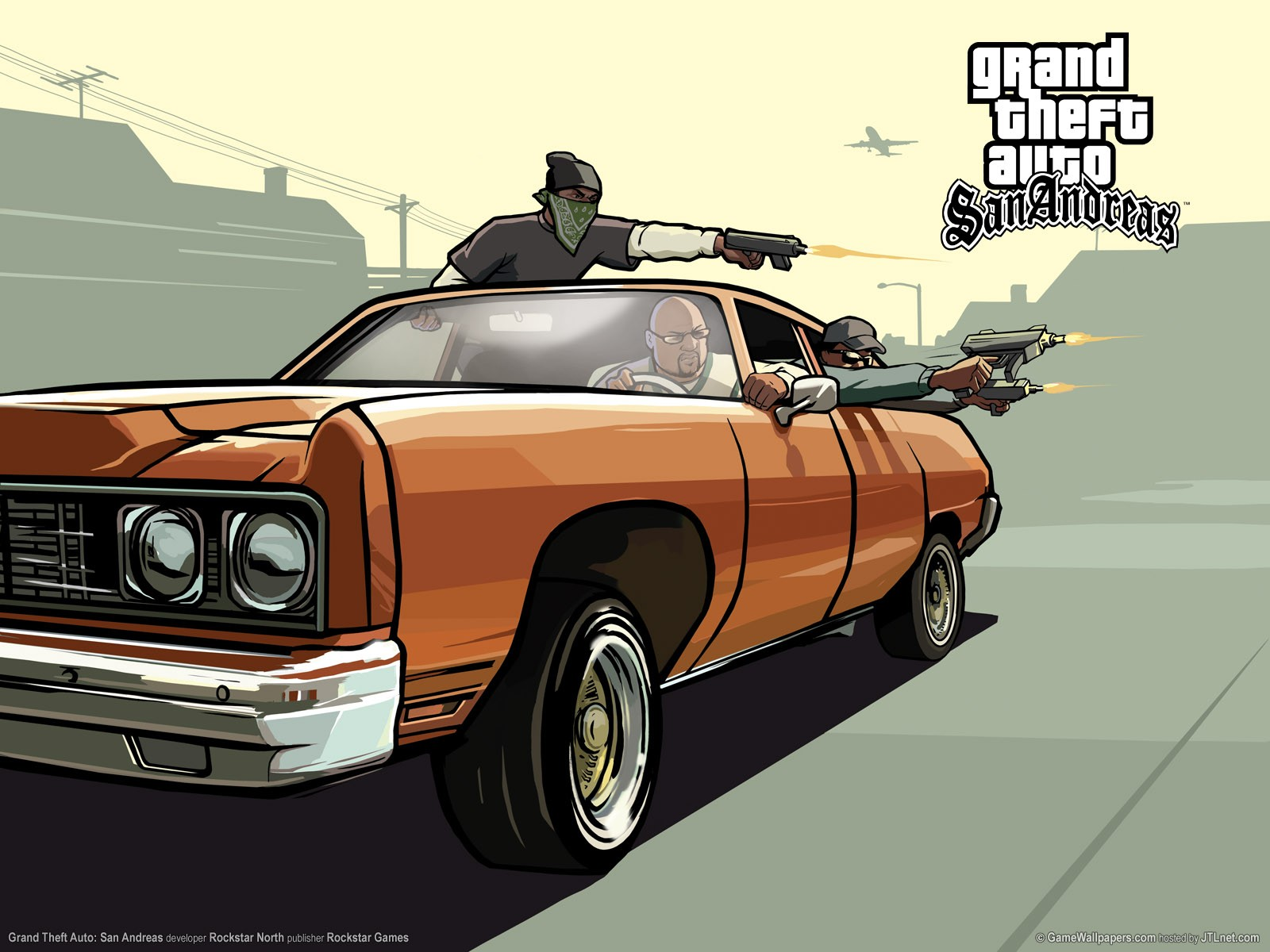 Wallpaper Gta San Andreas HD