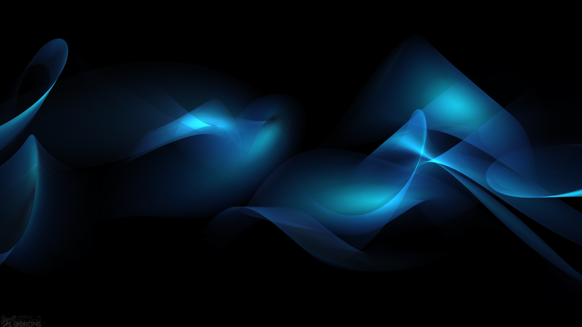 Wallpaper HD Abstract Blue