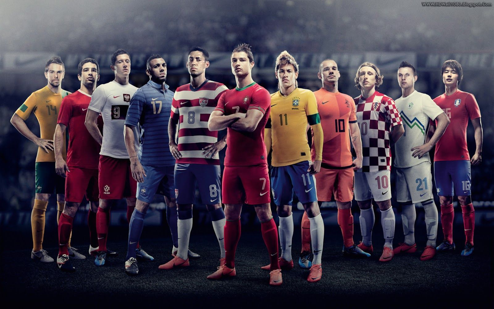 Wallpaper HD Football Players