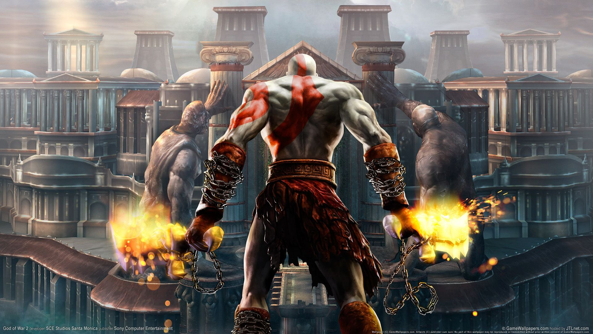 Wallpaper HD God Of War