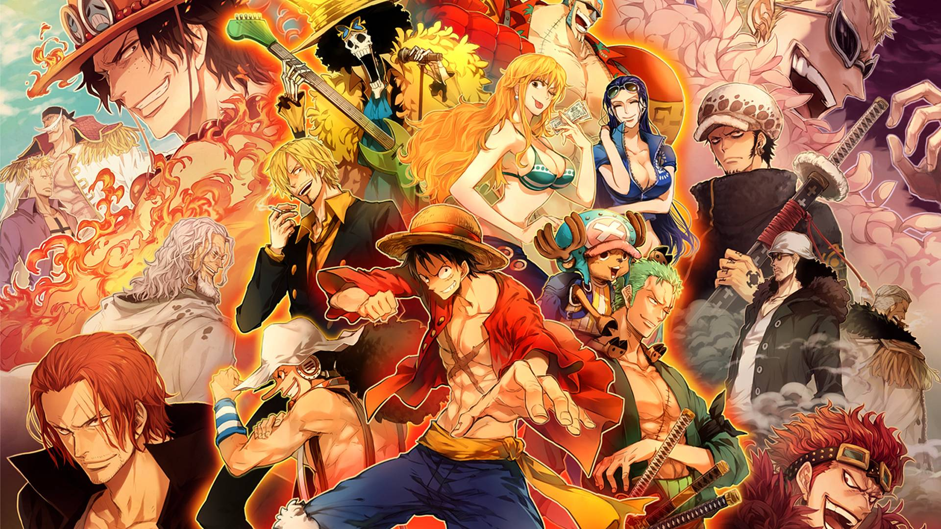 Wallpaper HD One Piece New World