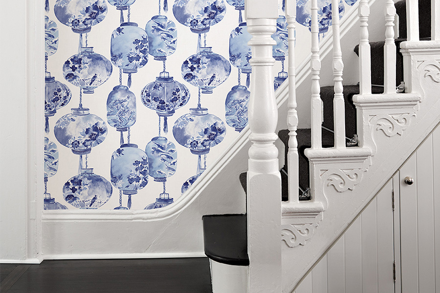 Wallpaper Hallway Ideas