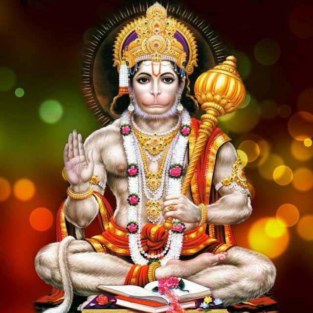 Wallpaper Hanuman Ji Full Size