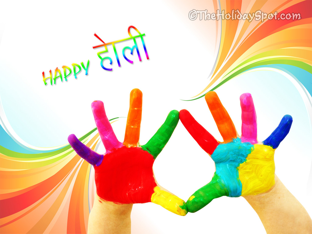 Wallpaper Happy Holi