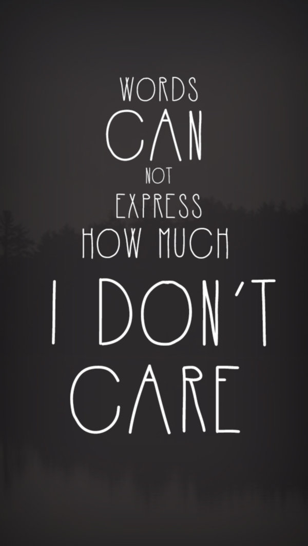 Download Wallpaper I Don T Care Gallery