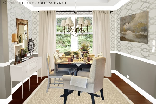 Download Wallpaper Ideas For Dining Room Gallery