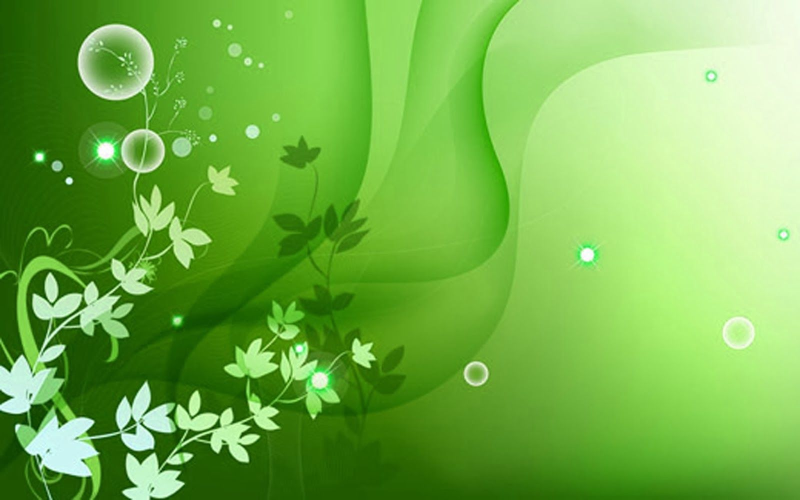 Wallpaper In Green Colour