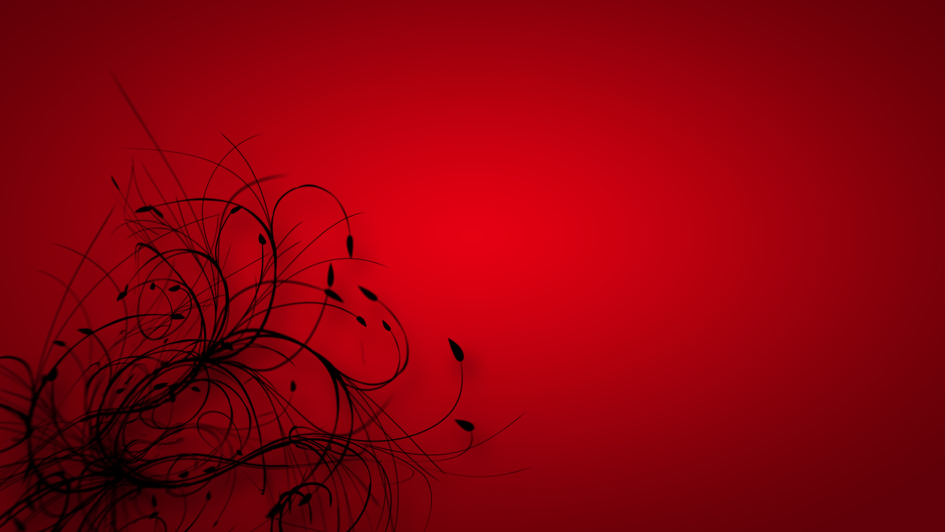 Wallpaper In Red