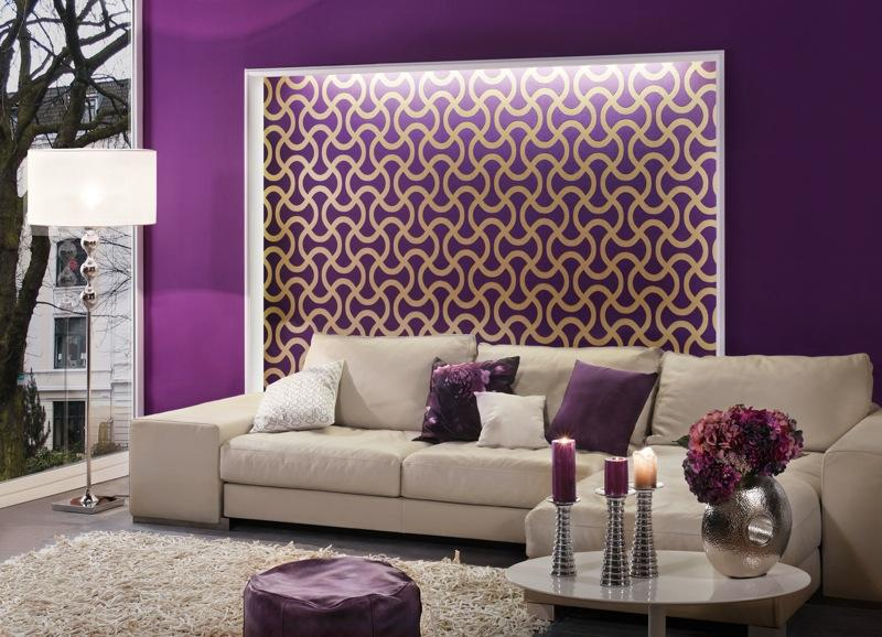 Glamorous Wallpaper Instead Of Paint Pictures - Best idea home .