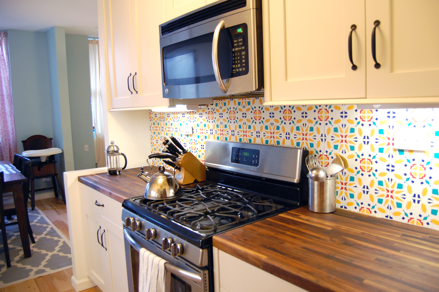 Wallpaper Kitchen Countertops