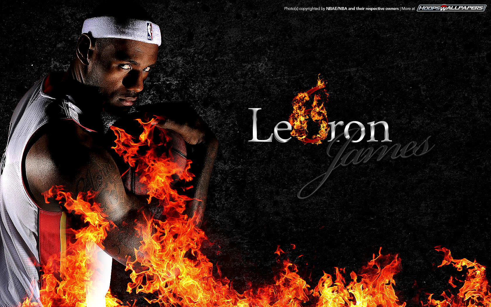 Wallpaper Lebron James