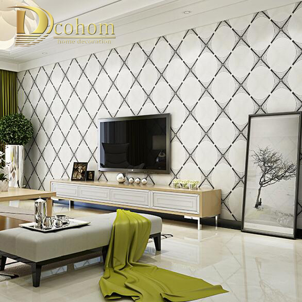 Wallpaper Living Room Modern