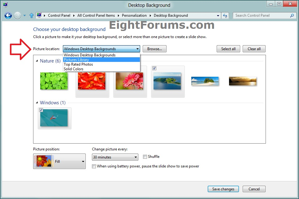 How To Change Download Location Windows 7
