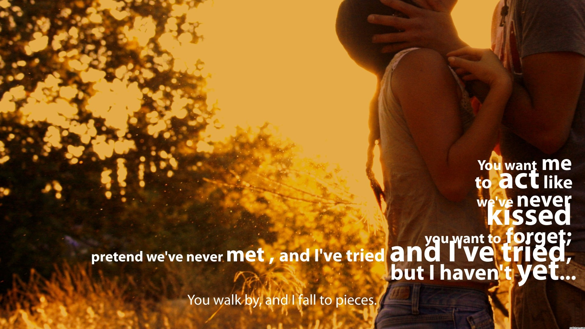 Wallpaper Love Quotes Couple