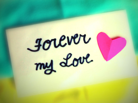 Wallpaper Love You Forever