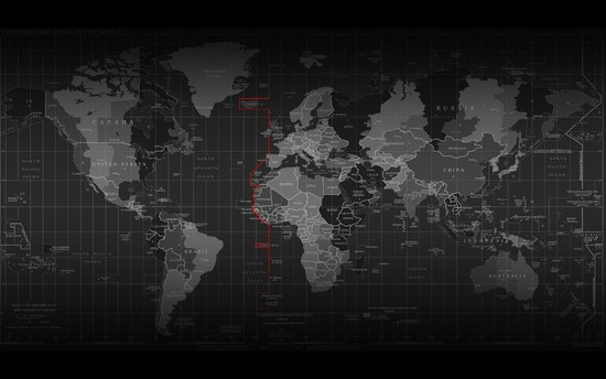 Wallpaper Map Of The World