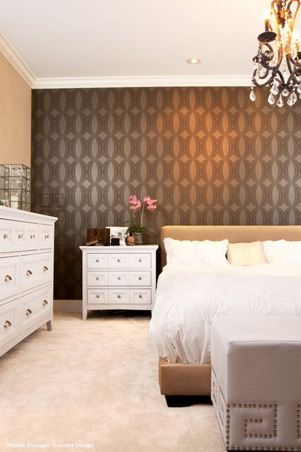 Wallpaper Master Bedroom Ideas